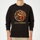 Game of Thrones Bronze Targaryen Sweatshirt - Black