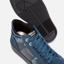 Android Homme Men's Propulsion Mid Trainers - Navy Camo Suede