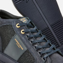 Android Homme Men's Propulsion Mid Geo Trainers - Navy Stingray Suede