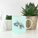 Fish In Geometry Mug