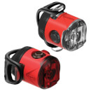 Lezyne LED Femto USB Drive Light Set - Red