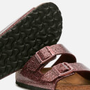 Birkenstock Women's Arizona Slim Fit Double Strap Sandals - Cosmic Sparkle Port
