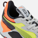 Puma Men's RS-X Hard Drive Trainers - High Rise/ Yellow Allert