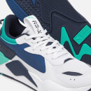 Puma Men's RS-X Hard Drive Trainers - Puma White/Galaxy Blue