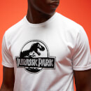Jurassic Park Primal Faded Floral T-Shirt - White