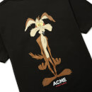 Looney Tunes ACME Capsule Wile E. Coyote Defeated T-Shirt - Black