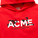 Sweat à Capuche Looney Tunes ACME Capsule Chase - Rouge