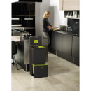 Joseph Joseph Totem Waste Separation and Recycling Unit 60L - Carbon