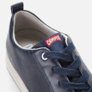 Camper Men's Runner Leather Low Top Trainers - Blue