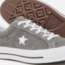 Converse Men's One Star Vintage Suede Ox Trainers - Carbon Grey/White/Black