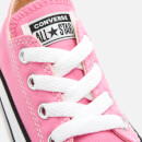 Converse Toddlers' Chuck Taylor All Star Ox Trainers - Pink