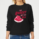 The Rarest Of Them All Women's Sweatshirt - Black