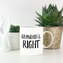 Grandad's Right Mug