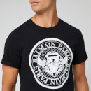 Balmain Men's Coin T-Shirt - Noir/Blanc