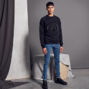 Balmain Men's Coin Sweatshirt - Noir