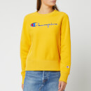 Champion Women's Big Script Sweatshirt - Golden Rod