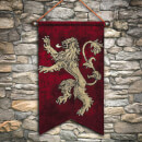 Game of Thrones Lannister Wall Tapestry