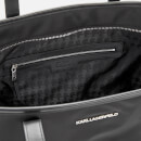 Karl Lagerfeld Women's K/Ikonik Nylon Tote Bag - Black