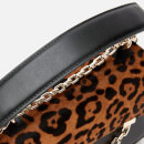 Karl Lagerfeld Women's K/Karl Seven Spec. Leopard Shoulder Bag - Black