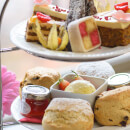 Seaside Prosecco Afternoon Tea and Treatment for Two at The Connaught Bournemouth