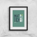 Match Point Art Print