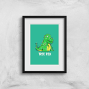 Tree Rex Art Print