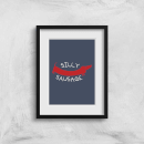 Silly Sausage Art Print