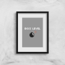 Boss Level Gaming Art Print