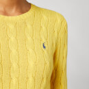 Polo Ralph Lauren Women's Julianna Classic Long Sleeve Jumper - Racing Yellow