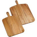 Jamie Oliver Acacia Wood Chopping Board - Medium & Large