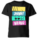 Cartoon Network Spin Off T-Shirt Enfant Johnny Bravo 90's Slices- Noir