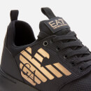 Emporio Armani EA7 Men's Runner Trainers - Black/Gold