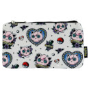 Loungefly Pokemon Jigglypuff Tattoo AOP Pencil Case