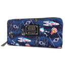 Loungefly Star Wars Chibi Ships Wallet