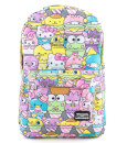 Loungefly Hello Sanrio Food AOP Nylon Backpack