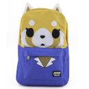 Loungefly Aggretsuko Big Face Nylon Backpack