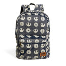 Loungefly Star Wars Imperial and Starbird Symbol Denim Backpack