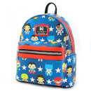 Loungefly DC Justice League Chibi Characters Backpack