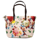 Loungefly Marvel Captain Marvel Floral Print Tote Bag
