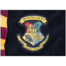 Harry Potter Hogwarts Black Fleece Robe with Scarf - Mens