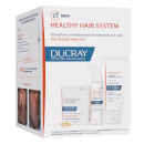 Ducray Men's Healthy Hair System for Chronic Thinning Hair (Worth $240.00)