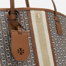 Tory Burch Women's Gemini Link Canvas Tote Bag - Light Umber Gemini Link