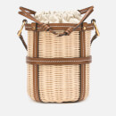 Tory Burch Women's Miller Wicker Bucket Bag - Classic Tan