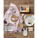 Bloomingville Bamboo Serving Set - Pink