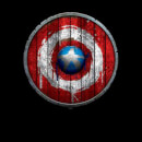Marvel Captain America Wooden Shield t-shirt - Zwart