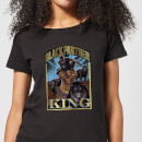 Marvel Black Panther Homage Women's T-Shirt - Black
