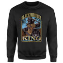 Marvel Black Panther Homage Sweatshirt - Black