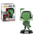 SDCC 2019 EXC Star Wars Boba Fett Green Chrome Pop! Vinyl Figure