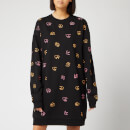 McQ Alexander McQueen Women's Slouchy Sweat Dress - Darkest Black