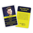 Celebrity Resume Card Game